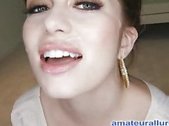 Miley is Eighteen years old, very cute and that playgirl has returned for her 1st cum facial ever! This is the second time Miley has visted AmateurAllure.com, and I am going receive my shot at her this time. That Hottie has an amazing, taut body and