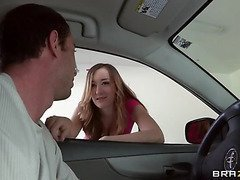 Victoria Rae Darksome is a little princess: That Hottie lives in a mansion with her dad who pays for totally everything this hottie has. But when dad finds out about her parties and legendary promiscuity, this stud takes away the solely thing that hottie actually valued... her car! And Vicky's got to receive it back the solely way this hottie knows how!